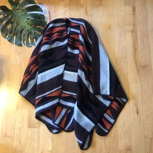 Poncho sweater from Old Navy
